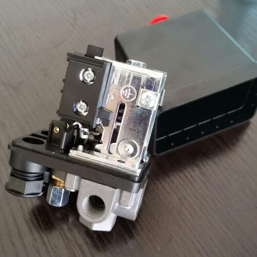 New Heavy Duty Air Compressor Pressure Switch Control Valve 90 PSI -120 PSI