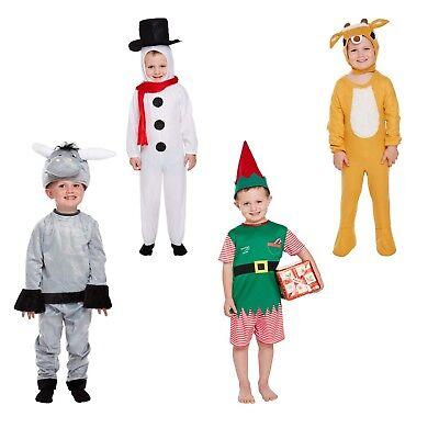 Kleinkinder Weihnachtskostüm Weihnachten Verkleidung Outfit Schneemann Rentier (Kleinkind Rentier Kostüm)