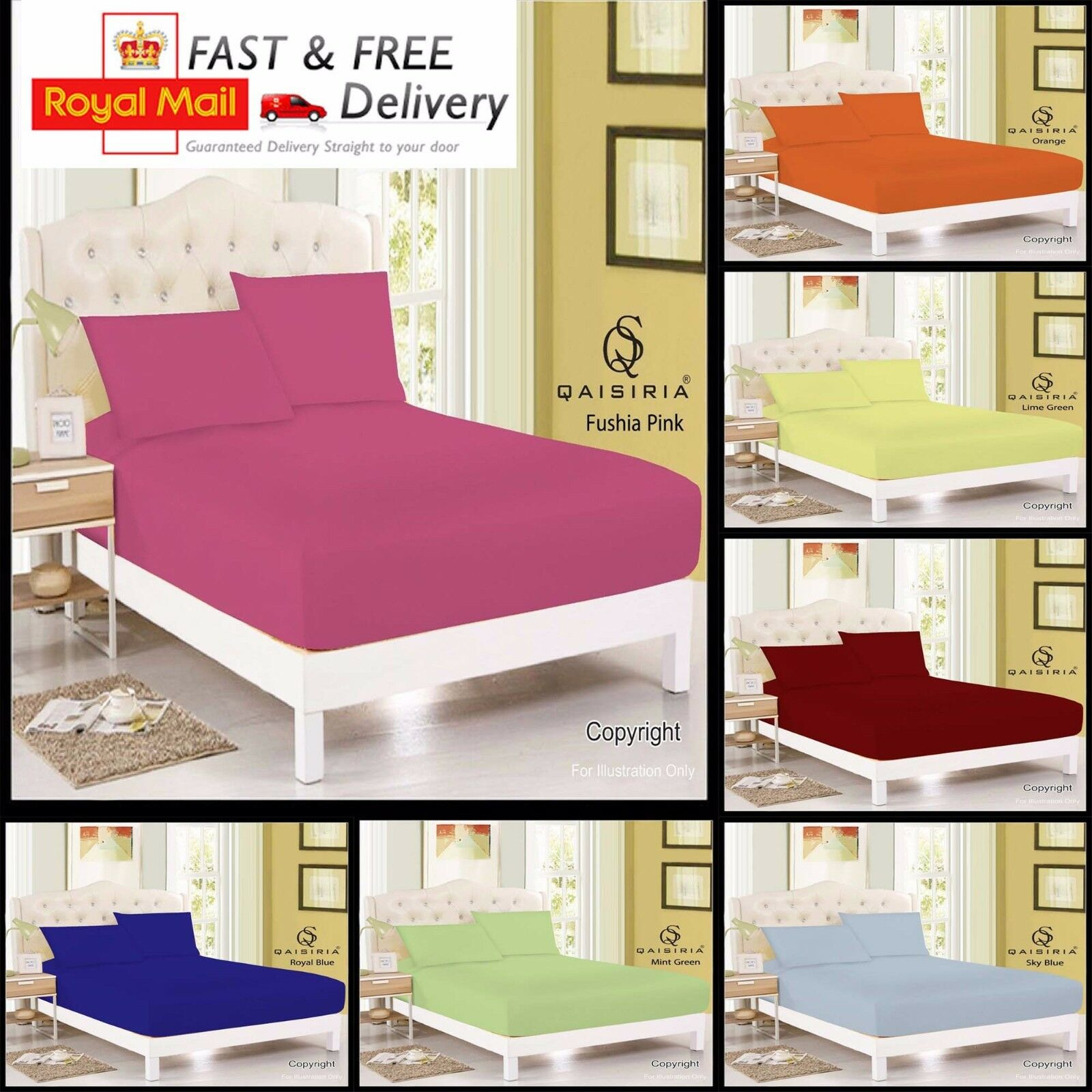 Luxury Diamond Fitted Sheet Plain Dyed Bed Sheet Fitted Bed Sheet Bedding Sheets