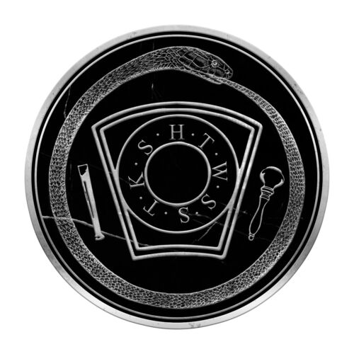 Royal Arch Keystone with Ouroboros Masonic Bumper Sticker - [5