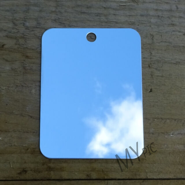 BCB STAINLESS STEEL CAMPING / FIELD MIRROR – unbreakable bushcraft army survival