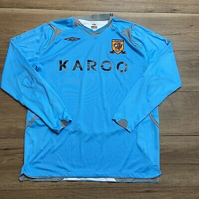 NEW W// TAGS YOUTH LARGE UMBRO BLUE SHIRT READY TO WIN