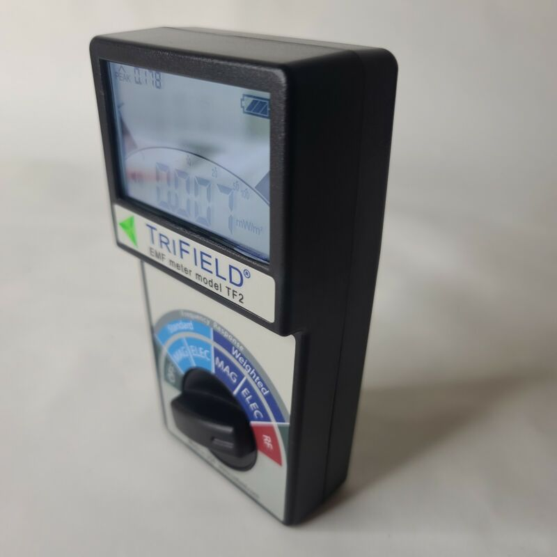 TriField TF2 EMF Meter Barely Used JUST Meter No BOX No Batterie Fast free shipp