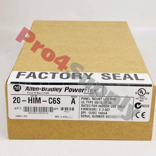 2019 US Stock Allen-Bradley PFlex 20 IP66-UL NemaType 4X-12 20HIM-C6 20-HIM-C6S