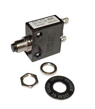 Push Button 40 Amp Circuit Breaker for 12/24/50 volts DC or 120/240 volts AC