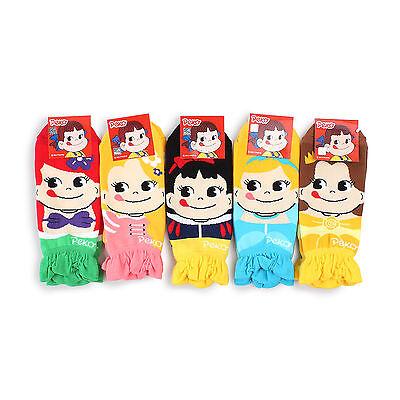 PEKO Chan Princess Milky Low cut  SOCKS (Pack of 5pairs)women Fashion EN