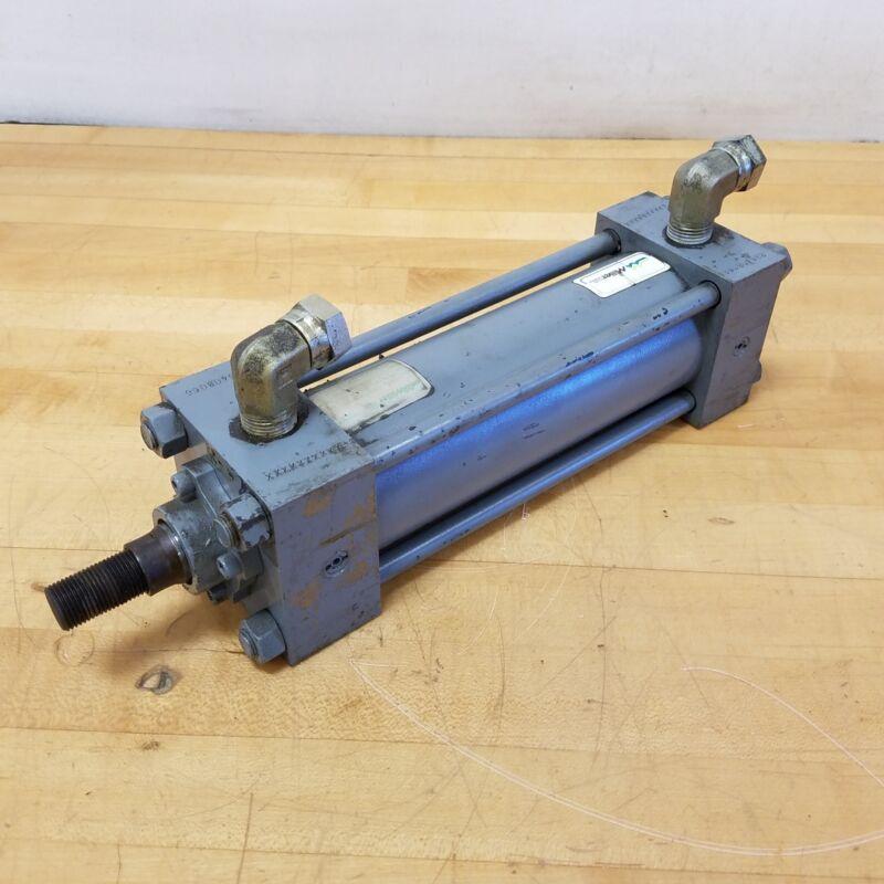 "Miller HV74 Hydraulic Cylinder. 2.5"" Bore, 6.5"" Stroke, 1"" Rod Dia. 4300 PSI"