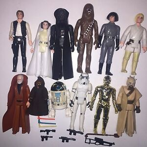 VINTAGE STAR WARS FIGURES******1985 Perth Perth City Area Preview
