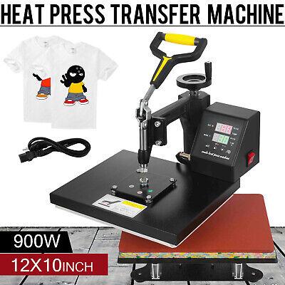 Digital Heat Press Transfer Machine Sublimation 360 Swing Away 12 X 10 Us