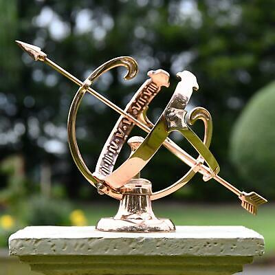 Polished Solid Copper Armillary - small
