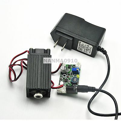 Adjusted 445nm 450nm 2w 2000mw Blue Dot Laser Diode Module W Ttl Wood Engraver