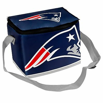 New England Patriots Insulated Soft Side Lunch Bag Cooler New   Big Logo