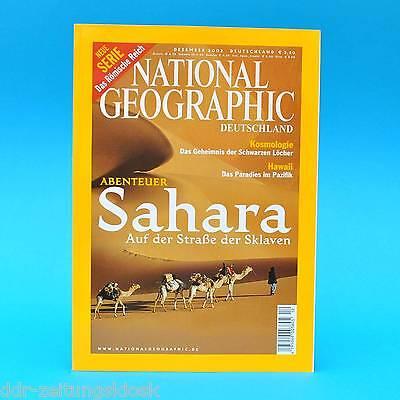 National Geographic Dezember 2002 Hawaii Torpedoboot PT 109 Sahara Chandra Rom