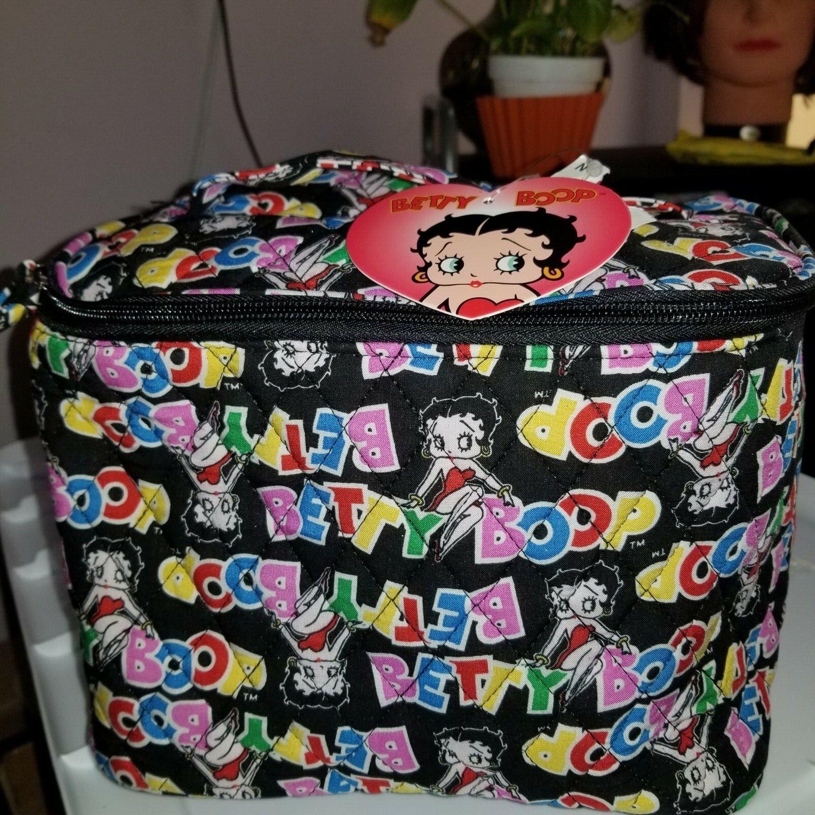 Betty Boop Travel Make Up Hanging Wash HANDBAG BAG NEW - $15.99