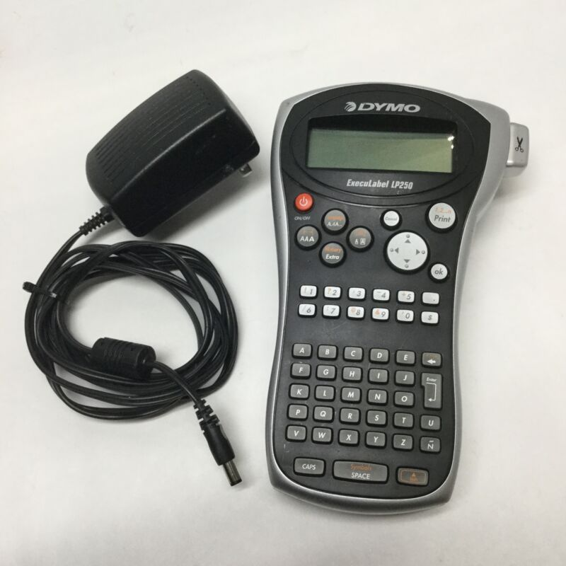 Dymo LP250 ExecuLabel Portable Handheld Monochrome Thermal Label Printer Maker