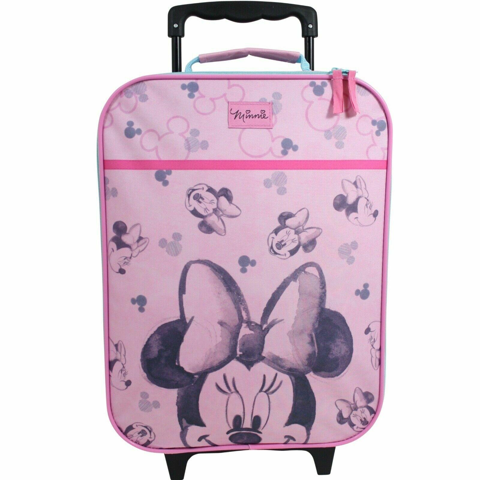 Disney Minnie Mouse Koffer Trolley Kinderkoffer Trolly Handgepäck Kinder Mädchen