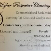 Higher perspective cleaning services