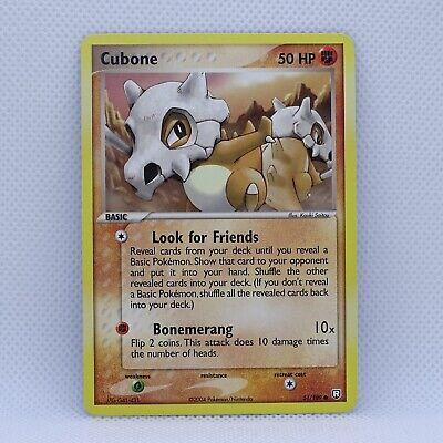 Cubone 51/109 - EX Team Rocket Returns - Pokemon