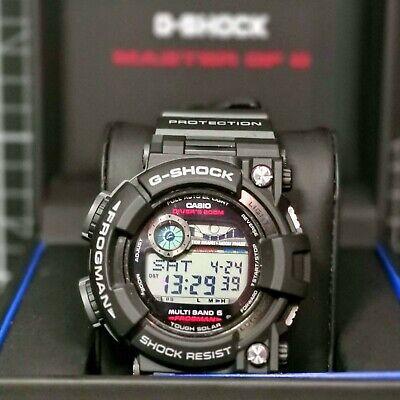 G-Shock FROGMAN GWF-1000-1 Master of G Solar Atomic Heritage Black 2009