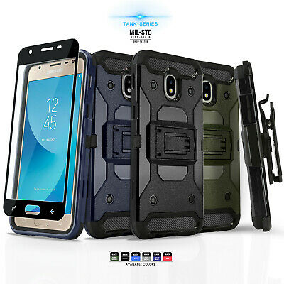 for SAMSUNG GALAXY J3 STAR / ORBIT / ACHIEVE, [Tank Series] Phone Case & Holster