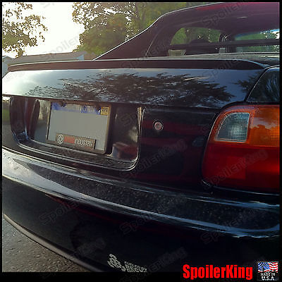 Civic Del Sol Spoiler - Rear Trunk Lip Spoiler Wing (Fits: Honda Del-Sol 1993-97) 244L SpoilerKing