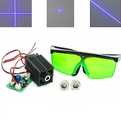 Dot 405nm 100mw Blueviolet Laser Module Ttl W Linecross Caps 405nm Goggles