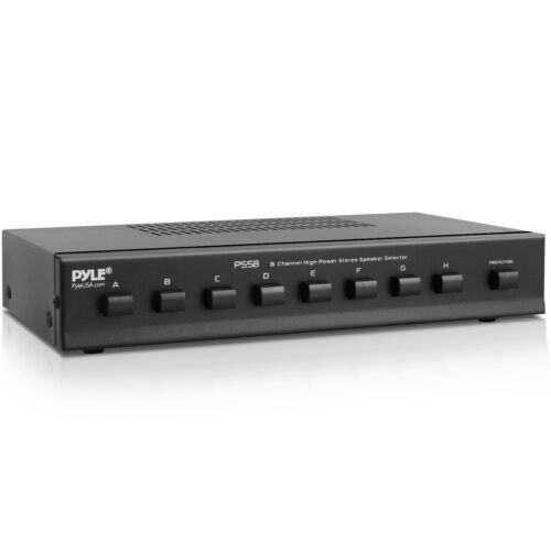 PyleHome PSS8 8 Channel High Power Stereo Speaker Selector