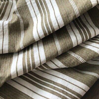 yds of Rust Traditional Elegance stripe fabric 4