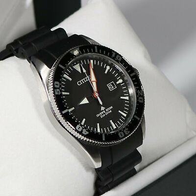 Citizen Promaster Sea Stainless Steel Men's Black Rubber Strap Watch BN0100-42E