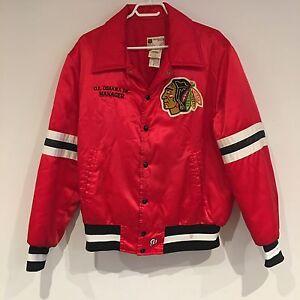 VTG Shain of Canada Chicago Blackhawks Professional Jacket