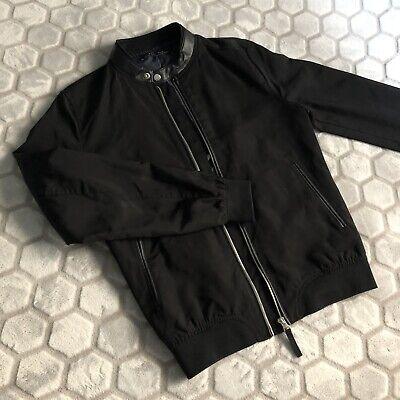 ZARA Men's Light Bomber Jacket Black S
