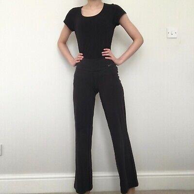 Womens Black Nike Dri Fit Yoga Trousers. Size XS