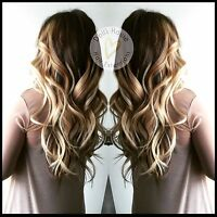 RUSSIAN LUXURY HAIR EXTENSIONS -micro/Fusion same day