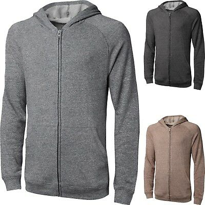 MENS WOMENS CASUAL Zip up HOODIE PLAIN HOODED SWEATSHIRT SOLID French Terry Womens French Terry Hoodie