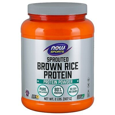 - NOW Foods Sprouted Brown Rice Protein Powder, 2 lbs.