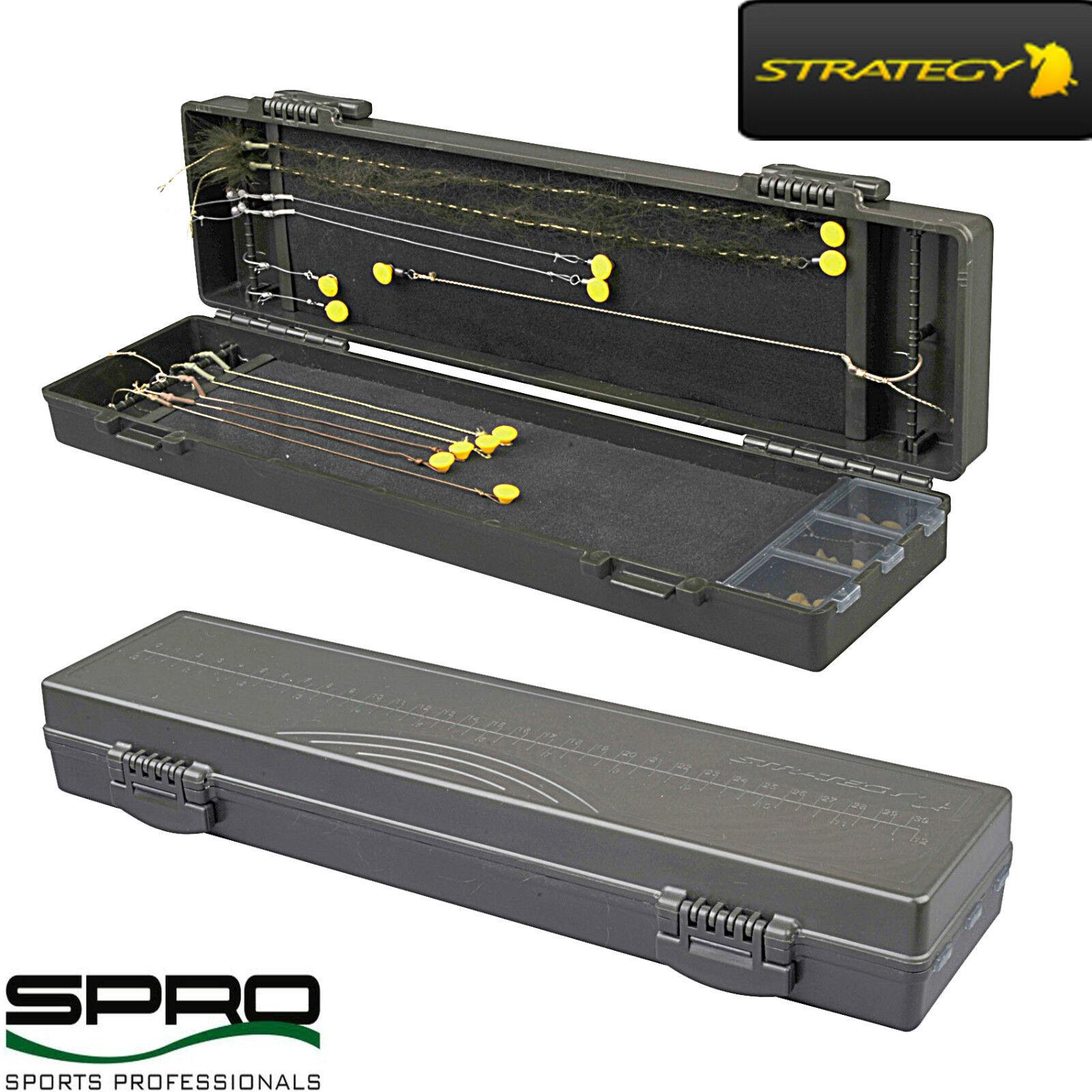SPRO STRATEGY RIG BOX  344x95x47mm VORFACHBOX VORFACHAUFWICKLER