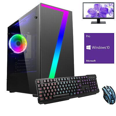 Computer Games - Ultra Fast AMD Quad Core 16GB 1TB Bundle Windows 10 Gaming PC Computer Streak