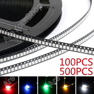 3528 Smd Smt Led Red Green Blue Yellow White 7colours Light Diodes Emitting