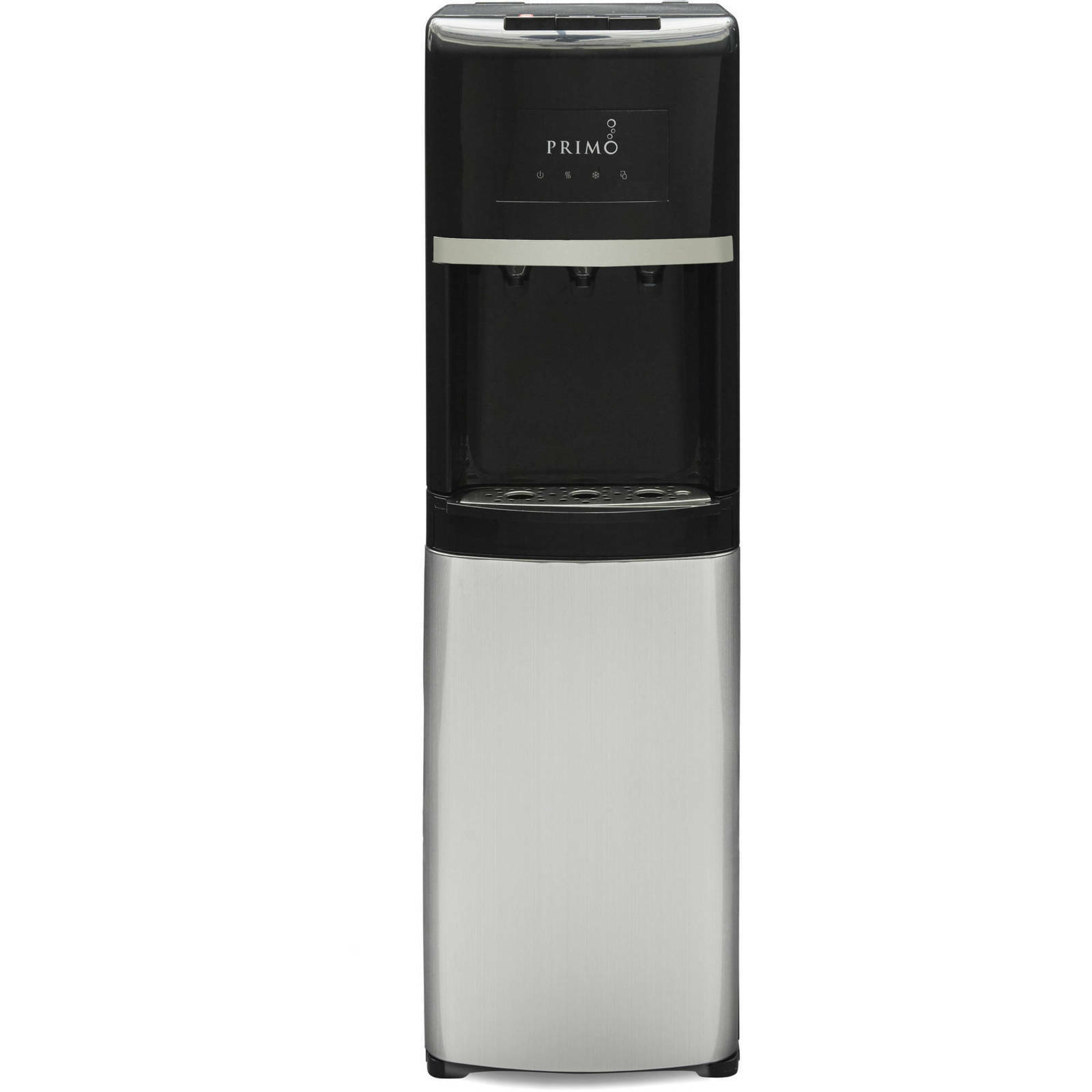 Primo Stainless Steel & Black Bottom Load Bottled Water Disp