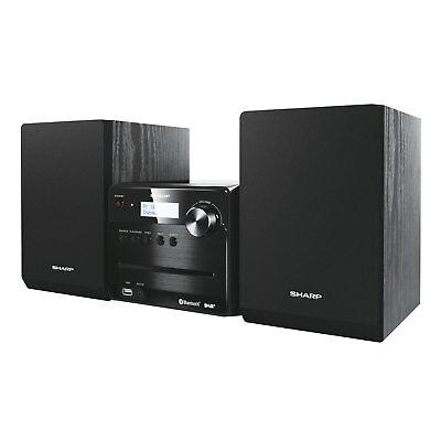 Sharp XL-B515D Stereo Micro Soundsystem CD DAB+ FM Bluetooth MP3 USB 40W RMS
