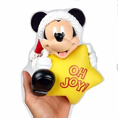 Disney Mickey Mouse PVC Replacement Oh Joy Christmas Star Tree Topper Only
