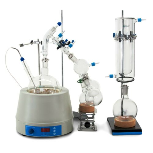 USA Lab Equipment 2000mL / 2L Short Path Distillation Kit