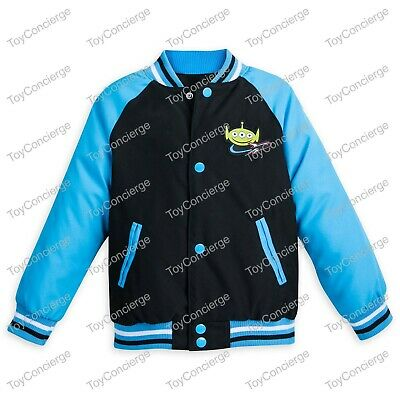 DISNEY Store VARSITY JACKET for Boys 2018 TOY STORY BUZZ LIGHTYEAR Pick Size - Varsity Jackets For Boys