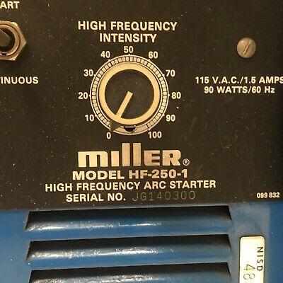Miller Hf-250-1 High Frequency Arc Starter