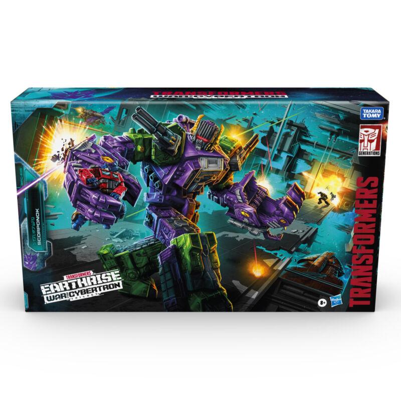 Transformers Generations War For Cybertron Earthrise Titan WFC-E25 Scorponok