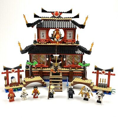 LEGO Ninjago Fire Temple (2507) 100% Complete with manuals, minifigures. No box