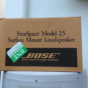 Free space model 25 surface mount speakers Taigum Brisbane North East Preview