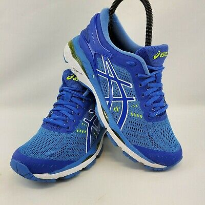 ASICS GEL-Kayano 24  Casual Running Stability Shoes - Blue - Womens Size 6