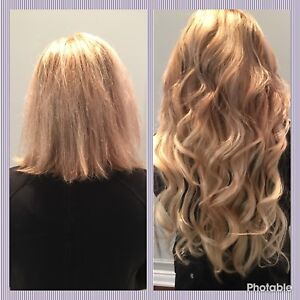Micro bead hair extension services in mississauga peel region tape fusion microbead hair extensions pmusecretfo Image collections