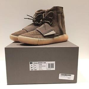 Kanye West Pablo Yeezy Boost 750 Chocolate Size US6 Melbourne CBD Melbourne City Preview